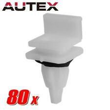 80pcs Nylon Rocker Molding Protector Clip Retainer Fastener for Acura Integra