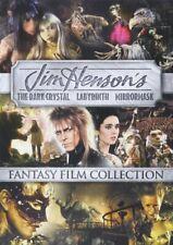 The Dark Crystal / Labyrinth (1986) / MirrorMask (2 Disc) DVD NEW