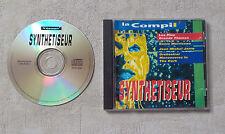 """CD AUDIO  / LA COMPIL' LES PLUS GRANDS THÈMES SYNTHETISEUR""""JARRE, MORRICONE....."""