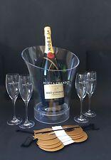 Moet & Chandon Impérial Champagner Magnum 1,5l 12% Vol + 4 Moët Gläser + Kühler