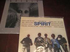 SPIRIT AUDIOPHILE BEST OF 180 GRAM LIMITED EDITION + 2 BONUS CLEAR SPIRIT & S/T