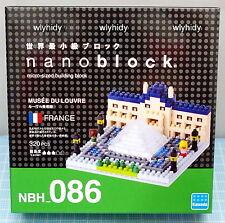 Nano Block France Musee Du Louvre Art Museum NBH086, 1pc - Kawada      ==1