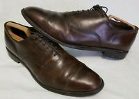 Men's ALLEN EDMONDS 'Park Avenue' Dark Brown Leather Oxfords Size US 13 - D