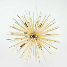 8 Light Gold Modern Sputnik Chandelier Lamp Home Lighting Living Room Restaurant