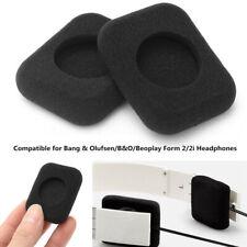 2x Square Foam Ear Pads Covers For Bang&Olufsen/B&O/Beoplay Form 2/2i Headphone