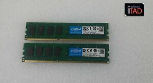 Crucial 16GB (2x8GB) DDR3L 1600MHz PC3L-12800 Desktop memory CT102464BD160B