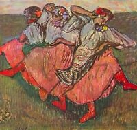 Russian Dancers by Edgar Degas Giclee Fine Art Print Reproduction on Canvas