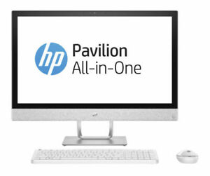 HP Pav 24-r014 AIO Intel 7th Gen I5-7400t 12gb Memory 2tb All-in-one PC Computer