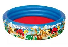 Bestway Angry Birds 3 Ring Above Ground Pool Blue 1.52m x 30cm New