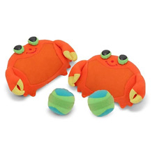 Melissa & Doug Clicker Crab Toss & Grip