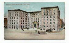 Board of Trade Building MONTREAL Quebec Canada 1910 Montreal Import Postcard 156