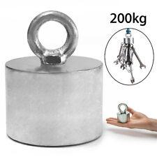 200kg Neodymium Recovery Magnet Metal Detector 55x40mm Treasure Hunting Fishing