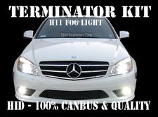 MERCEDES H11 CANBUS FOG LIGHT TERMINATOR HID XENON KIT ERROR FREE CLS C E CLASS