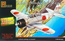 Pegasus Hobbies 1/48 A6M2 Zero Snap Together Plastic Model Kit 8409 Skill 1