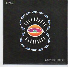 (EL613) Stags, Love Will Delay - 2013 DJ CD