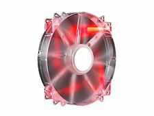 Cooler Master MegaFlow 200 Red LED PC Case Cooling Fan 700 RPM 200 mm