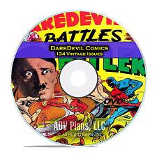 DareDevil Comics, 134 Issues, Lev Gleason, PDF, Classic Age Comics DVD D29