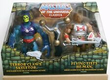 Masters of the Universe MOTU Classics Terror Claws Skeletor, Flying Fists He-Man
