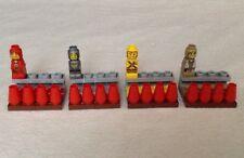 Replacement Lego Heroica: Fortaan Microfigs - 4 HEROES w/ Hero Packs Minifigs