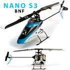Blade BLH01350 Nano S3 BNF Helicopter w/ AS3X & SAFE Technology