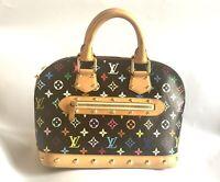 Authentic Louis Vuitton Monogram Murakami Alma PM handbag