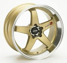 LENSO PROJECT D D1R 18X8.5 +35 5X114.3 GOLD SKYLINE SILVIA FORD DRIFT JDM