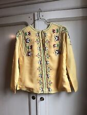 Vintage Women's Embroidered Shirt