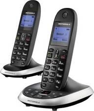 Schnurloses Telefon Motorola C2012 Anrufbeantworter Freisprechen Schwarz +B-Ware