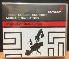 Maps of Western Europe: TomTom GO series, NAVIGATOR 5,One,Rider Mobile 5, Neu