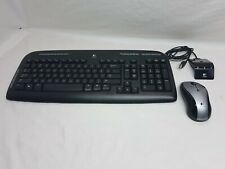 Logitech Y-RAZ71 820-000176 Wireless Keyboard & Mouse With Receiver Combo