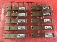 16x Genuine Cisco GLC-T 1000BASE-T 30-1410-03 RJ45 SFP lot of 16 module 3month
