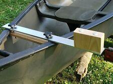 Canoe trolling motor mount - 2.5 Aluminum / Ash