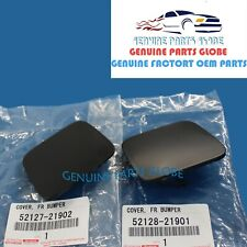 GENUINE OEM TOYOTA SCION 2011-2013 tC RIGHT & LEFT FRONT BUMPER HOLE COVER SET