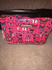 Anna Smith Pink Butterfly Satchel BNWT