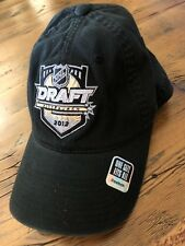 NEW w/TAG NHL Draft Pittsburgh 2012 Reebok Baseball Hat Cap Fitted Flex Penguins