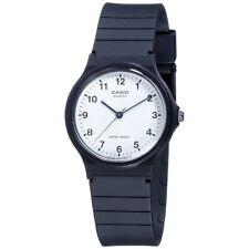 Reloj Deportivo Casio Para Hombre Para Caballero Análogo Correa Negra MQ-24-7BLL