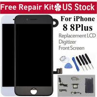 For iPhone 8 8Plus LCD Touch Screen Digitizer Full Replacement Camera Earspeaker