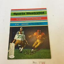 OJ Simpson Signed Autographed 1968 Sports Illustrated Magazine With JSA COA