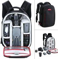 Beschoi DSLR Camera Backpack Bag Case For Canon Nikon  Waterproof Lightweight