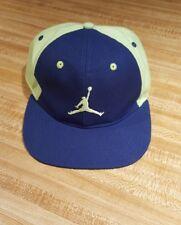 Jordan Brand Youth Snapback Hat Neon Green Blue Pastel