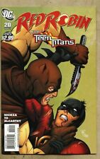 Red Robin #20-2011 nm 9.4 Tim Drake Teen Titans / Marcus To Catman