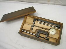 Starrett No. 196 Dial Indicator Gauge Set Accessories Box Machinist Gage Tool