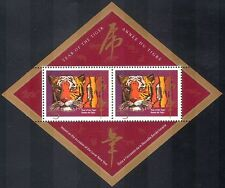 Canada 1998 YO Tiger/WILD CATS/Greetings/Animals/Nature/Wildlife 2v m/s b6285