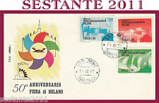 ITALIA FDC ROMA 1972 ANNIVERSARIO FIERA DI MILANO ANNULLO SAN REMO G325