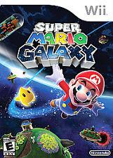 Super Mario Galaxy (Nintendo Wii) Video Game