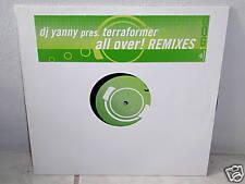 """**DJ YANNY pres.TERRAFORMER""""ALL OVER!-Remixes""""-12""""inch*"""