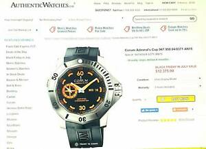 LIMITED EDITION WATCH , CORUM ADMIRAL'S CUP , 135 of 200 EVER BUILD