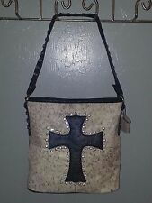 Genuine, Cowhide, Bling, Cross, Purse, Cowgirl, Hide, leather,