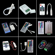3/10/11/17/20/24/44 Keys Mini IR RF Remote Controller Music For LED Strip Light