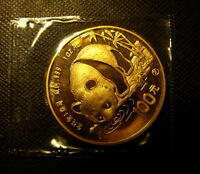 China 1987Y Gold 1 oz Panda 100 Yuan Original Mint Sealed BU